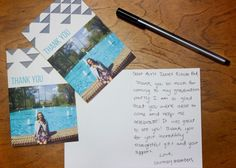 Don't forget about Graduation Thank you cards! Mixbook has so many options