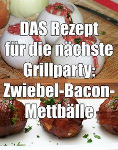 Nichts für Vegetarier, aber dafür umso mehr für alle anderen! Diese Mettbälle dürfen auf der nächsten Grillparty nicht fehlen! :)