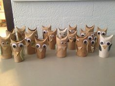 Hoopla and Hilarity: Toilet Paper Roll Owls