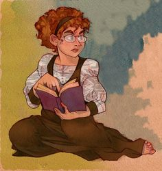 Tris from Circle of Magic by tamora pierce