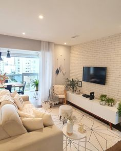 4 tips to successfully decorate your living room Ruang tamu idaman anda? Home Living Room, Living Room Designs, Living Room Decor, Estilo Interior, Modern Home Interior Design, Beautiful Living Rooms, Room Inspiration, Decoration, Diys