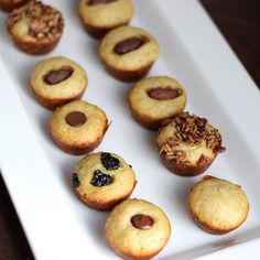 These little mini muffins are the perfect to-go breakfast and snack. You can eat 4 muffins for less than 130 calories and 1 gram of fat.