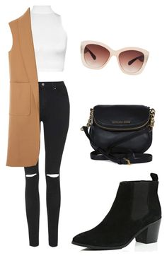 """""""Untitled #63"""" by daisychains7 ❤ liked on Polyvore featuring Topshop, Michael Kors, River Island, WearAll, Alexander Wang and Eloquii"""