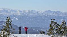 På Vikerfjell på Ringerike fant vi et snømektig, folketomt skieldorado med panoramautsikt - halvannen times kjøring fra Oslo. Her rekker du både en påsketur i snaufjellet og afterskifest i storbyen etterpå.