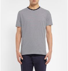 Sunspel - Striped Cotton-Jersey T-Shirt | MR PORTER