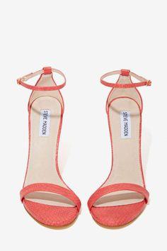 Steve Madden Stecy Heel - Coral Snake - Open Toe | Heels | Shoes | All | Steve Madden | All | Shoes | 40% Off Shoes