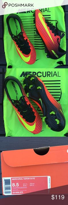 Nike Mercurial Vapor XI Soccer Cleat Brand New and never worn Lightest boot  in the game approves! Comes with OG everything Nike Shoes Athletic Shoes cdccbae49
