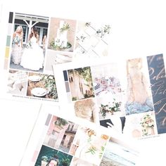 Custom mood boards for branding projects   Romantic, feminine, luxe visual branding by b is for bonnie design