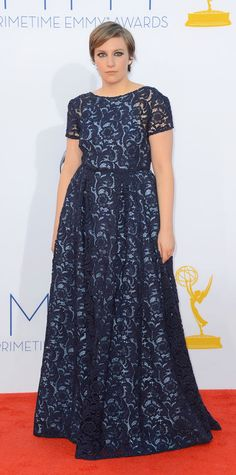 Lena Dunham's Best Style Moments - Prada, 2012 from #InStyle