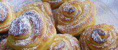 Recept: Ajánlatos egyből dupla adagot sütni belőle, csiga rétes Doughnut, Desserts, Food, Tailgate Desserts, Deserts, Essen, Postres, Meals, Dessert
