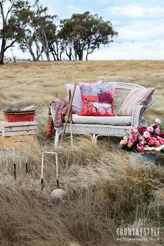 Country Style Magazine. Why not plan a country picnic to make the most of this mild autumn weather? Photography Alicia Taylor Styling Tessa Kavanagh ‪#‎countrystylemag‬ #picnic #outdoorentertaining