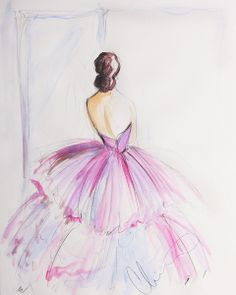 Christian Siriano Ltd. Ed. Sketch Print (Series 2) - Not Signed