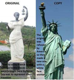 Interesante esta estatua. June 11, 2014.