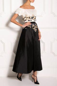 Razan Alazzouni Zibeline Scutes Skirt