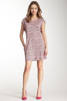 See by Chloe Short Sleeve Print Dress by High Wattage Hits on @HauteLook