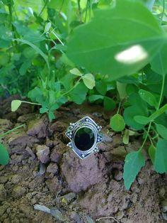 Black Onyx Ring, Healing Gemstone, Black Lover Ring, Promise Gift, Gifts For Her Black Gems, Black Onyx Ring, Midi Rings, Anniversary Rings, Stone Rings, Statement Rings, Gifts For Her, Wedding Rings, Gemstones