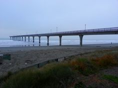 New Brighton pier in the mist