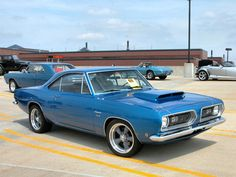 1968 Plymouth Barracuda Coupe.