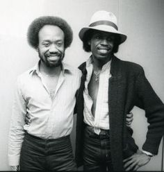 His survivors include his brothers Verdine and Fred, both of whom were members of Earth, Wind and Fire for many years. Brothers Maurice & Verdine White of Earth Wind and Fire | NY, 1981 |