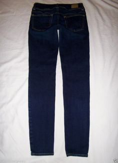 American Eagle Outfitters Slim Skinny Ankle Jean Dark Stretch 0 *EUC* #AmericanEagleOutfitters #SlimSkinny