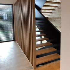 "MRB Constructions on Instagram: ""Entry and Stair detail. 8mm steel balustrade and stringer, over 3 levels. #steel #americanoak #rammedearth"" Steel Balustrade, Balustrades, Rotterdam, Steel Detail, Main Door Design, Rammed Earth, Architectural Features, Modern House Design, Indoor Outdoor"