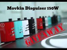 (Giveaway) Movkin Disguiser 150W + JC25-RTA + JC25-RDA + Disguiser Squon...