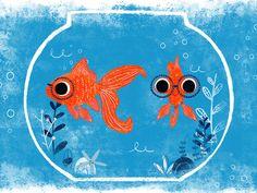 Fish Character design by Ciara Panacchia