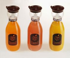 35 empaques muy creativos de jugo de frutas ~ 8 OCHOA DESIGN STUDIO BLOG