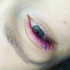dd9ae596fe1 Pink lashes by Kamile Kvestyte Eyelashes, Human Eye, Lashes, Eyes