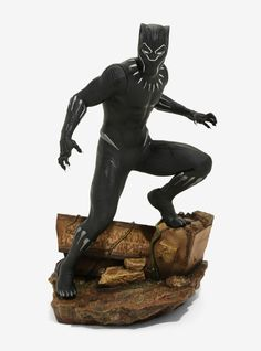 ArtFx+ Marvel Black Panther Collectible Statue Marvel Creator, Marvel Statues, Harry Potter Quidditch, Captain American, Marvel Captain America, Black Panther Marvel, Dragon Ball Gt, Avengers Infinity War, Bobble Head