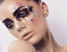 Linda Hallberg Avantgarde Augen Make-up Exotisches Makeup, Costume Makeup, Makeup Inspo, Makeup Inspiration, Beauty Makeup, Makeup Looks, Prom Makeup, Makeup Brushes, Makeup Ideas