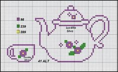 This Pin was discovered by Ser Cross Stitch Kitchen, Mini Cross Stitch, Cross Stitch Heart, Simple Cross Stitch, Cross Stitch Kits, Easy Cross Stitch Patterns, Cross Stitch Designs, Cross Stitching, Cross Stitch Embroidery