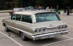 1963 Chevrolet Impala wagon. Had one...It's name was Tiny Bubbles.