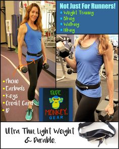 Amazon.com : Running Belt for iPhone 6 Plus & All Smartphones by Rude Monkey Gear. Waterproof Lining. No-Bounce & Reflective Strips. Waistband Belt for Runners. Waist Pack for Hikes, Walks, Biking, Gym & Vacation. : Sports & Outdoors