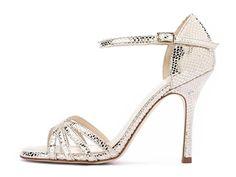 Sandalo ALMA in pelle laminata oro - Tango shoes collection Evergreen