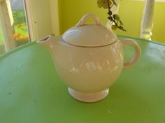Vintage Pink Teapot Tiny by peacenluv72 on Etsy, $8.50