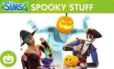 http://www.durmaplay.com/News/cadilar-bayrami-paketi-geliyor   Maxis ve The Sims Studio is birligi çerçevesinde ana serinin dördüncü oyunu olarak gelistirilen, Windows bilgisayarlarda Eylül 2014, Apple bilgisayarlarda da Subat 2015'te bulusturulan hayat simülasyon ve eglence oyunu The Sims 4 için Cadilar Bayrami konseptini fazlasiyla yerinde yansitan yeni bir ek paket duyuruldu  The Sims serisinin resmi YouTube kanalindan yayimlanan Spooky Stuff isimli tanitim video