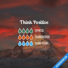 Think Positive - Essential Oil Diffuser Blend