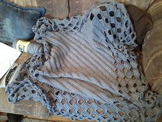 A soft and cozy tunisian crochet throw worked on the bias. For my blanket i used about 5 1/4 skeins of Caron Simply Soft
