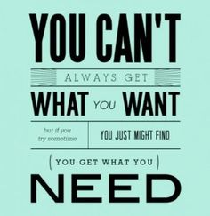The Rolling Stones, You Can't Always Get What You Want