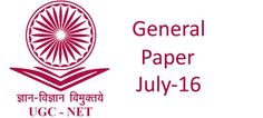 Girfa : Student Help: UGC Net Computer Science Paper1  July 16