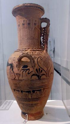 Η Υδρία του ζωγράφου Αναλάτου  βρέθηκε στο νεκροταφείο του Αναλάτου  (Ν. Σμύρνη) αρχές 7ου αι. Εικονίζονται στον λαιμό ένας μουσικός με λύρα έχοντας αριστερά δύο άντρες και δεξιά γυναίκες. Στην κάτω ζωφόρο διακρίνονται δύο λιοντάρια πτηνά και διάφορα φυτά. Συνδυάζονται στοιχεία της γεωμετρικής  και της ανατολήζουσας περιόδου.