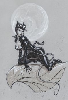 Catwoman by MichaelDooney.deviantart.com on @deviantART