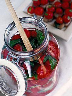 Conserva di pomodorini agli aromi
