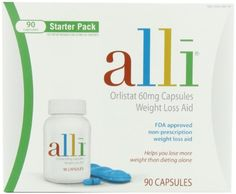 The Best Selling Alli Weight-Loss Aid, Orlistat 60mg Capsules, 90-CountStarter Pack - Top 1 Weight Loss Products
