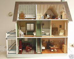 Anyone build the Victoria's Farmhouse??? - Real Good Toys Dollhouses - The Greenleaf Miniature Community