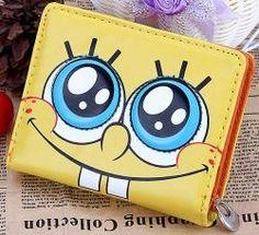 Spongebob Squarepants Yellow Wallet