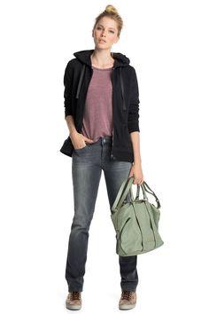 Esprit - Grijze 5-pocket-jeans