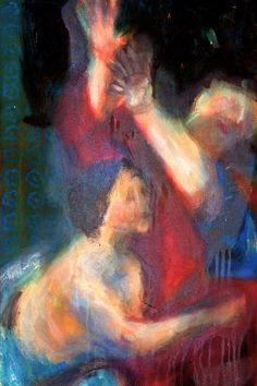 A. Beck, Schlüsselreiz, Acryl auf Leinwand, 60 x 40 cm, 2010, 700 €