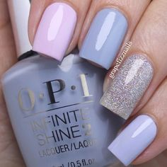 Spring nails nail designs 2019 - page 92 of 200 - nagel-design-bilder.de - Spring nails nail designs 2019 You are in the right place about spring nails easter Here we offer y - Simple Nail Designs, Nail Art Designs, Nails Design, Design Art, Love Nails, Fun Nails, Spring Nails, Summer Nails, Periwinkle Nails